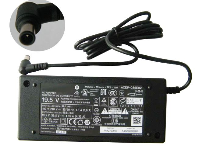 Laptop-oplader Sony ACDP-085E03