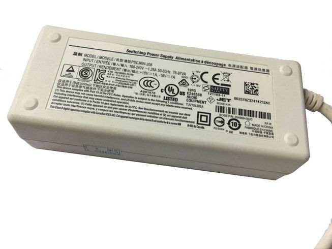 Laptop-oplader Bose PSM36W-208