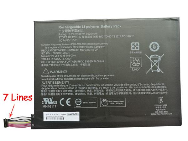 HP 789609-001 accu