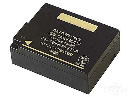 Panasonic DMW-BLC12E accu