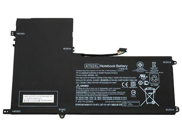 HP AO02XL accu