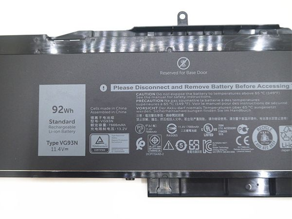 DELL VG93N laptop accu